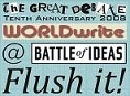 Flush it! - Worldwrite and The Great Debate at Battle of Ideas